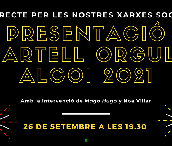 Presentació del Cartell ORGULL 2021