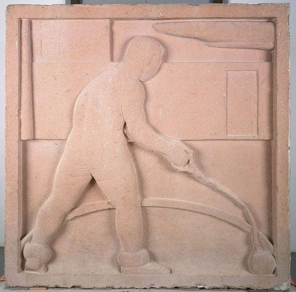 Francisco Pérez Mateo Lanzador de martillo, 1930 Piedra IVAM, Institut Valencià d'Art Modern. Generalitat.